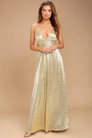 gold maxi dress gold dress maxi dress gold gown formal gown 116 00