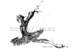 swan lake or russian ballerina ballet drawing art print