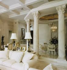 Dining Room Columns Terrific Boca Raton Dining Room Mediterranean Living Other By On