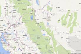 Usgs Earthquake Map California Earthquake Magnitude 3 3 Quake Strikes Near California Nevada