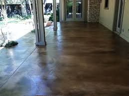 Stain Concrete Patio Yourself Staining Concrete Patio Do It Yourself Home Design Ideas