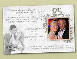 Best 25 Wedding Reception Invitation 25th Wedding Anniversary Invitations Reduxsquad Com