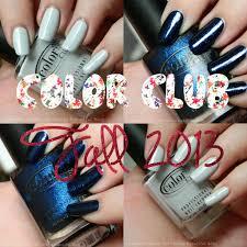 color club fall 2013 silver lake u0026 williamsburg swatches u0026 review