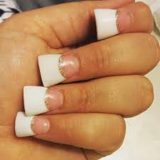 long pink and white duck feet nails belage nails lake forest