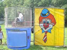 rent a clown nyc water dunk tank rent clowns4kids
