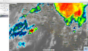Naples Italy Map Supercell Thunderstorm Producing Large Hail In The Naples Italy
