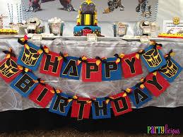 transformer birthday transformers birthday party ideas transformer birthday