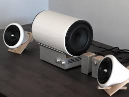 Modern Speaker The Ceramic Speakers And Subwoofer Designed By Joey Roth A