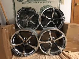 corvette c6 wheels for sale c6 corvette grand sport chrome oem wheels for sale corvette