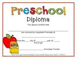 preschool graduation diploma preschool graduation diplomas preschool graduation and school