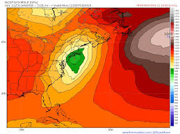 weather map of east coast usa maue weather us on gfs 12z update american model