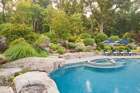 Pool Landscape Design by Spas Cording Landscape Design
