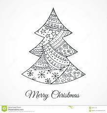 cute christmas tree drawing how to draw a christmas tree cute