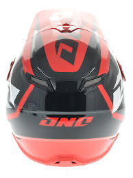 one motocross gear one industries black red honda world motocross gamma mx helmet