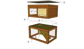 easy cheap rabbit hutch plans 10 free rabbit hutch building