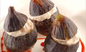 cuisiner figues fraiches fraîches gorgées de soleil crème légère au miel sirop de fraises