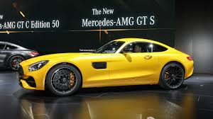 new mercedes amg gt c coupe is the friendlier gt r in detroit