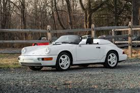 porsche white convertible 1994 porsche 911 speedster carrera speedster