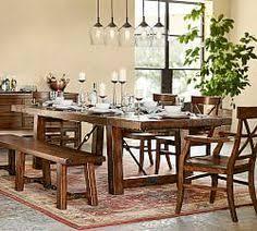 Toscana Pottery Barn Stafford Reclaimed Pine Extending Dining Table Pottery Barn