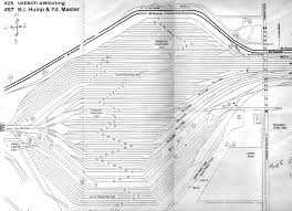 Chicago Railroad Map by Blet Division 32 Cora Info