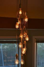 Light Bulbs For Pendant Lights Cool Diy Lamp From Light Bulbs U2013 Fresh Design Pedia