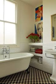 25 black and white victorian bathroom tiles ideas and pictures