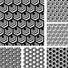 3d geometric design clipart collection