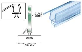 strictly shower doors parts drip sweeps