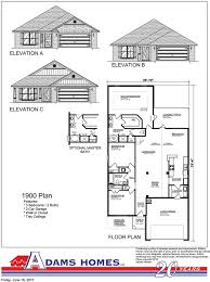 Breland Homes Floor Plans by Canal Crossing Adams Homes