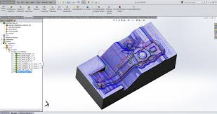 3d milling solidcam software hsm 3d high speed machining