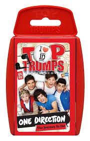 one direction cards top trumps one direction card toys