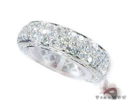 mens infinity wedding band all diamond wedding bands for men cut infinity band wedding in