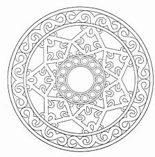 awesome collection of free printable abstract coloring pages
