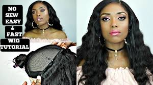 sewing marley hair diy no sew wig tutorial in just 30 minutes very detailed maxglam