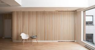 Curved Floor L L Abri Slatted Curved Wall Divisare