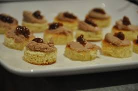 pate canapes and s table canapes for