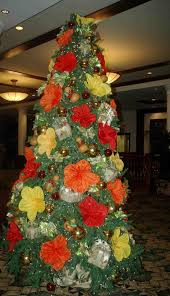 and present ideas happy tree decorations with flowers