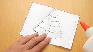 how to make a tree pop up card robert sabuda method