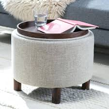 Ottoman With Tray Ottoman With Trays Etechconsulting Co