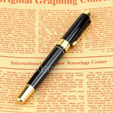 thick writing paper popular pen thickness buy cheap pen thickness lots from china pen jinhao 250 black and gold m nib fountain pen thick china mainland