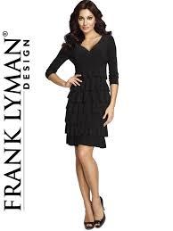 chic dress frank lyman dress 036 addicted chic