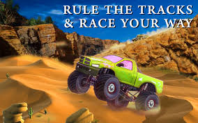 grave digger the legend monster truck monster truck desert drive android apps on google play