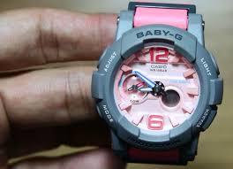 Jam Tangan Baby G Warna Merah casio baby g bga 180 4b2 indowatch co id