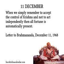 srila prabhupada s quotes in december hare krishna calendar part 3