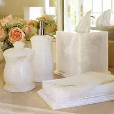 Bathroom Countertop Accessories by Orleans Alabaster Bath Accessories Frontgate