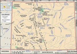 colorado physical map interactives united states history map from sea to shining sea