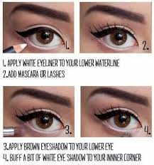 pinup eyes that pop eye makeup tutorials and how to make your eyes look bigger with