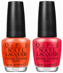 opi summer 2014 little bits of neon nail polishes review and