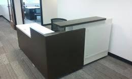 Ada Reception Desk New Office Reception In Kansas City Missouri Mo Furniturefinders