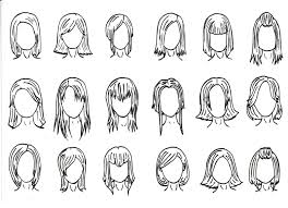 sketches of hair hair styles 1 by j foxy on deviantart